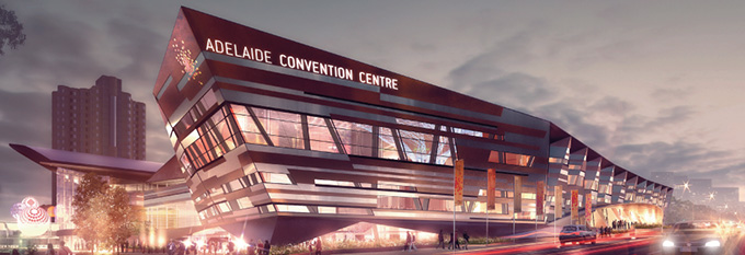 Adelaide Convention Centre artist impression