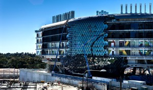 nRAH and SAHMRI construction site on North Terrace, Adelaide