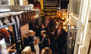 Interior of Udaberri, a small wine and whiskey bar located in Adelaide's West End. Image courtesy of Udaberri.